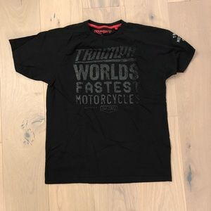 Triumph Shirts - Triumph motorcycle t-shirt size medium